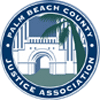 Logo of the Palm Beach County Justice Association